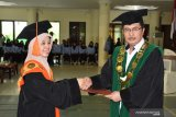 Prof Nyayu Khadijah tercatat sebagai rektor perempuan pertama di UIN Palembang