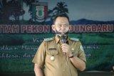 Wakil Bupati Pringsewu pimpin apel pegawai medis di puskeswan