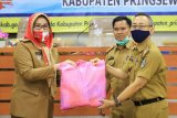 Kabupaten Pringsewu terima bantuan Kementerian PPPA buat perempuan-anak terdampak COVID-19