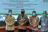 Serentak diseluruh Indonesia, BNI Wilayah Padang dan Kejati Sumbar teken PKS