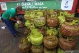 Pertamina tambah stok tabung gas elpiji di Kalteng jelang Idul Adha