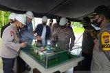 Wakapolri tinjau lokasi pembangunan kantor Polda Maluku