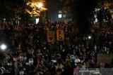 Ribuan orang  berunjuk rasa Black Lives Matter di Seattle-AS