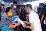 Wali Kota Palangka Raya berikan bantuan korban kebakaran