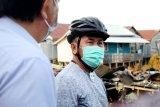Gubernur berikan dukungan moril kepada korban kebakaran di Palangka Raya