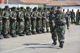 Danrem 172/PWY lepas kepulangan Satgaspam perbatasan Indonesia-PNG