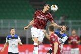 Tren kemenangan Milan dihentikan Atalanta dengan paksakan hasil imbang
