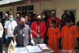 Polisi: Pembunuhan di tempat ibadah Palembang bermotif  utang narkoba