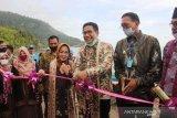Menteri Desa resmikan penggunaan perahu di Sungai Pinang