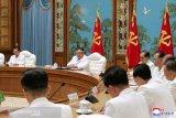 Kim Jong Un: pejabat antisipasi COVID-19 dan topan