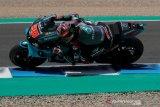 Quartararo juarai GP Andalusia, Yamaha sapu bersih podium