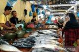 Pedagang Pasar Baru Tanjungpinang  keluhkan ikan dagangan dicuri