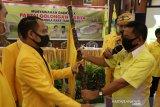Fairid kembali terpilih jadi ketua Golkar Palangka Raya