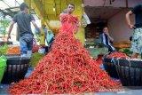 Harga cabai merah naik dari Rp18.000 menjadi Rp24.000 per kilogram di Pasar Raya Padang