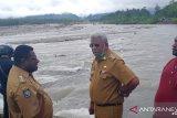 Banyak rumah warga Kampung Mimika Gunung hanyut akibat banjir bandang