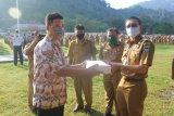 Pesisir Selatan terima APD senilai Rp22 juta dari Yayasan Perahu Nusantara