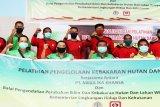 PT Mega Ika Khansa gandeng Manggala Agni gelar pelatihan pengendalian karhutla