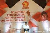 Gerindra Sulsel agendakan serahkan rekomendasi di enam pilkada pada Rabu