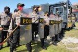 Polda Kalteng tingkatkan latihan personel amankan pilkada serentak