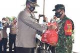 Alumni Akpol 1991 Batalyon Bhara Daksa Polda Lampung gelar bakti sosial