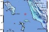 Gempa bumi mangnitudo 4,9 landa Nias Selatan, tidak bepotensi tsunami