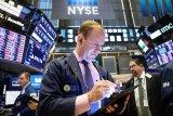 Wall Street dibuka variatif di tengah reli saham teknologi dan virus