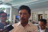 Menkominfo tinjau lokasi Pusat Data Nasional di Kota Bitung, Selasa