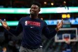 Williamson segera gabung berlatih dengan Pelicans