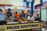 Dua pemuda ditangkap bawa ganja 11 kg saat alami kecelakaan