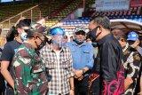 Polisi disiagakan dalam pengosongan Stadion Andi Mattalatta Makassar