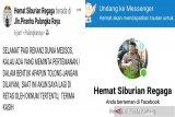 Akun facebook 'Hemat Siburian Regaga' perwira Polresta Palangka Raya diretas
