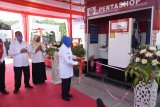 Wabup Sleman meresmikan Pertashop Pertamina di Kecamatan Cangkringan