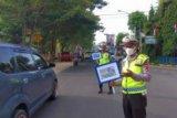 Polisi tilang 68 pelanggar lalu lintas dalam Operasi Patuh 2020