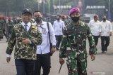 Menko Polhukam Mahfud: Jangan lagi ada kecurigaaan militer anti-HAM