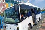 Uji coba bus listrik yang sedang berjalan di Jakarta dilakukan secara ketat