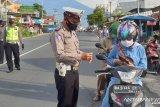 Masih pandemi, Operasi Patuh Singgalang Polres Payakumbuh fokus pada edukasi