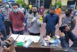 Polisi ringkus lima pelaku narkoba  di Palu