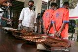 Modus penyelundupan satu kilogram sabu dalam sandal dari Aceh ke NTB berhasil diungkap