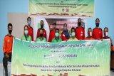 Tingkatkan kemampuan tim, PT Trieka Agro Nusantara gandeng Manggala Agni gelar pelatihan pengendalian karhutla