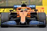 Norris kenakan helm spesial kreasi fans cilik di Grand Prix Britania
