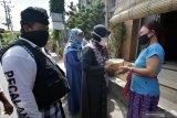 Orang muda Katolik di perbatasan Indonesia - Malaysia jaga Shalat Idul Adha