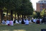 Warga muslim RI di Inggris Shalat Idul Adha 1441 H di Colchester Castle Park