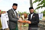 Daging kurban Presiden Jokowi untuk warga pra sejahtera di Jeneponto