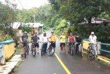 Pemkab Sangihe gelar olahraga bersepeda keliling Tahuna