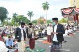 Pelaksanaan shalat Idul Adha di halaman kantor gubernur tetap terapkan protokol kesehatan