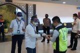 Jumlah penumpang yang tiba di Bandara Minangkabau meningkat jelang Idul Adha