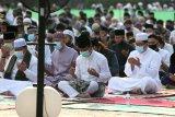 Shalat Idul Adha di Batam dengan  protokol kesehatan