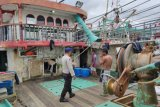 Gelombang tinggi, Satuan Polairud Mimika patroli imbau nelayan tunda melaut