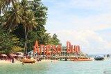 Ratusan wisatawan kunjungi Pulau Angso Duo Pariaman saat libur di normal baru