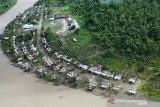 Dua kampung di pesisir Mimika masih terendam banjir